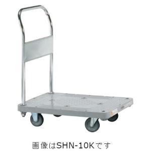 送料0円 サカエ LHN-20K 樹脂ハンドカー 授与 固定ハンドルタイプ LHN20K