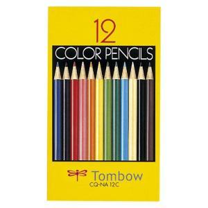 トンボ鉛筆 4901991016345 色鉛筆紙箱12色NA CQ-NA12C (1セット) dentarou