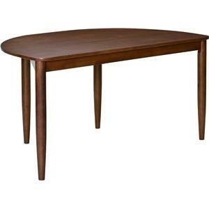 <title>ds-2320519 ダイニングテーブル アーチ 135cm幅 ラバーウッド材 4人掛け用 ブラウン 新色追加して再販 組立品 代引不可 ds2320519</title>