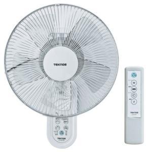 TEKNOS KI-W279R 30cm壁掛けフルリモコン扇風機 (KIW279R)
