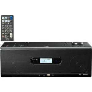 ビクター RD-W1-B Bluetooth/NFC機能搭載CDポータブルシステム (RDW1B)(ブラック)|dentarou