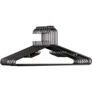 ●スリム設計で収納性に優れている10本セットのハンガーです。