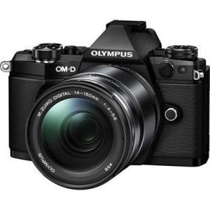オリンパス E-M5M214-150BLK <OM-D>OLYMPUS ミラーレス一眼カメラ OM-D E-M5 Mark II 14-150mm II レンズキット(1605万画素/ブラック) (EM5M214150BLK)|dentarou