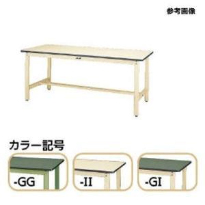 山金工業 SWR-1560-GI ヤマテック ワークテーブル300固定式 【個人宅宛配達不可】 (SWR1560GI)|dentarou