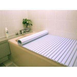 東プレ 4904892012416 風呂ふた シャッター式 (80×160cm用) ブルー W16 (巻きフタ)|dentarou