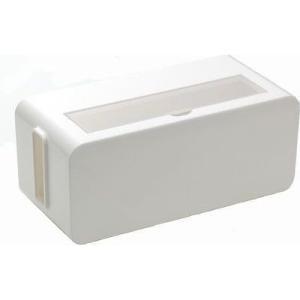 イノマタ化学 4905596483069 コンセント収納ボックス テーブルタップボックス ホワイト (ケーブル コード 収納ケース)|dentarou