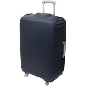 ミヨシ MBZ-SCL3/BK 撥水スーツケースカバー Lサイズ (MBZSCL3/BK) dentarou