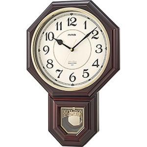 【納期目安:1週間】MAG W-670-BR メロディ掛け時計「西洋館(セイヨウカン)」 (W670BR)|dentarou