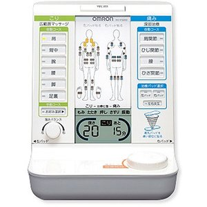 オムロン 「こり」「痛み」症状別治療を1台で実現。電気治療器 HV-F5000