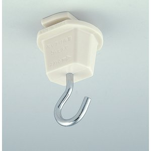 エルパ ライティングバー用 吊りフック EW-LR04H  /配線ダクトレールへ、証明を吊り下げるための部品です /ELPA 朝日電器|dentendo|02