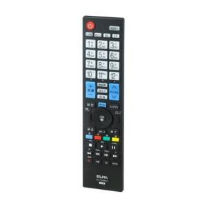 テレビリモコン LG メーカー設定済みですぐに使える RC-TV009LG/ELPA