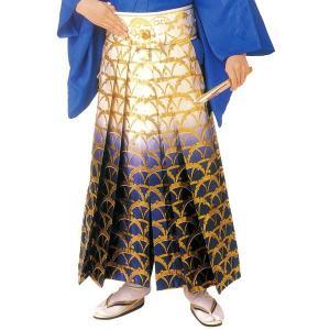 袴 金襴踊り用(うまのり) =舞踊 民踊 日本舞踊 新舞踊 演武= (72243)|dento-wako