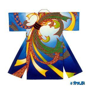 子供用よさこい長半纏 半天 袢天 法被 半被 ポリエステルプリント =よさこい衣装 YOSAKOIソーラン よさこい祭り= (73201)|dento-wako