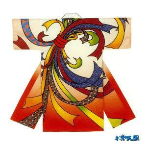 子供用よさこい長半纏 半天 袢天 法被 半被 ポリエステルプリント =よさこい衣装 YOSAKOIソーラン よさこい祭り= (73203)|dento-wako