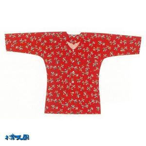 小紋鯉口シャツ 大人用 =お祭り衣装 大祭 祭禮 神輿 イベント= (76015)|dento-wako