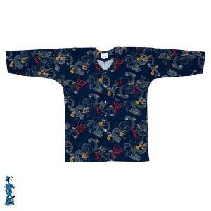 鯉口シャツ 大人用 =お祭り衣装 大祭 祭禮 神輿 イベント= (76012)|dento-wako