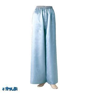よさこいサテンストレートパンツ シルバー =よさこい衣装 YOSAKOIソーラン よさこい祭り= (76112) dento-wako