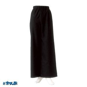 よさこいストレートパンツ 黒 =よさこい衣装 YOSAKOIソーラン よさこい祭り= (76105) dento-wako