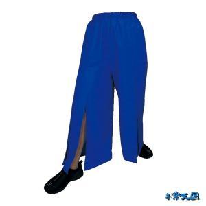 よさこいスリットパンツ ブルー =よさこい衣装 YOSAKOIソーラン よさこい祭り= (76118) dento-wako