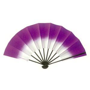トロピカル演舞扇(パープル) =よさこい用品 YOSAKOIソーラン よさこい祭り= (76381)|dento-wako