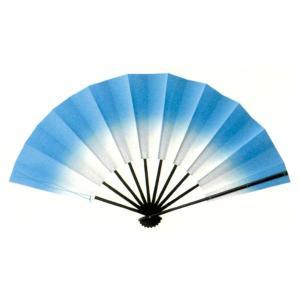 トロピカル演舞扇(ブルー) =よさこい用品 YOSAKOIソーラン よさこい祭り= (76383)|dento-wako