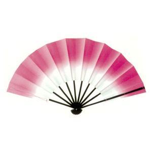 トロピカル演舞扇(ピンク) =よさこい用品 YOSAKOIソーラン よさこい祭り= (76384)|dento-wako