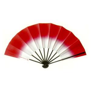トロピカル演舞扇(レッド) =よさこい用品 YOSAKOIソーラン よさこい祭り= (76385)|dento-wako