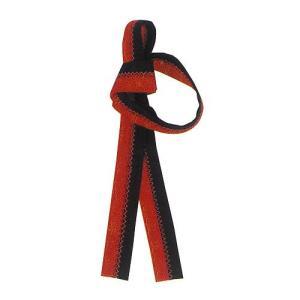 無地鉢巻 カラーボーダー(赤×黒) =お祭り よさこい用品 大祭 祭禮 イベント はちまき= (76527) dento-wako