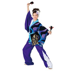 よさこいコスチューム 上衣 =よさこい衣装 YOSAKOIソーラン よさこい祭り= (73004) dento-wako