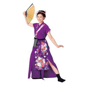 よさこいコスチューム 袖無しブラウス =よさこい衣装 YOSAKOIソーラン よさこい祭り= (73012) dento-wako