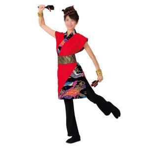 よさこいコスチューム 上衣 =よさこい衣装 YOSAKOIソーラン よさこい祭り= (73016) dento-wako