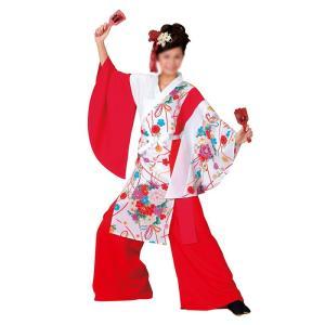 よさこいコスチューム 上衣 =よさこい衣装 YOSAKOIソーラン よさこい祭り= (73038) dento-wako