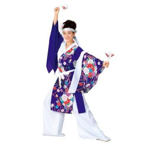 よさこいコスチューム 上衣 =よさこい衣装 YOSAKOIソーラン よさこい祭り= (73039) dento-wako