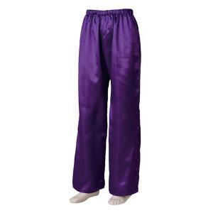 よさこいサテンストレートパンツ 紫 =よさこい衣装 YOSAKOIソーラン よさこい祭り= (76111) dento-wako