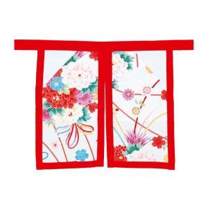 よさこい前掛 ポケット付き =よさこい衣装 YOSAKOIソーラン よさこい祭り= (76352)|dento-wako