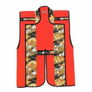 陣羽織 大人用 単衣 =時代劇 武者行列 祭り= (72581)|dento-wako