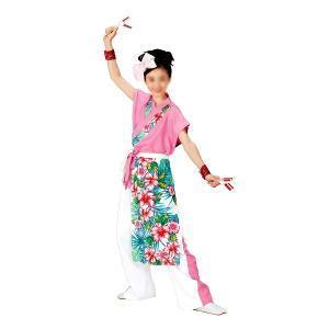よさこいコスチューム 袖無しブラウス =よさこい衣装 YOSAKOIソーラン よさこい祭り= (73014) dento-wako