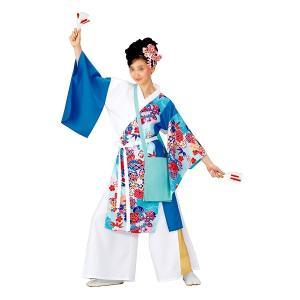 よさこいコスチューム 上衣 =よさこい衣装 YOSAKOIソーラン よさこい祭り= (73043) dento-wako