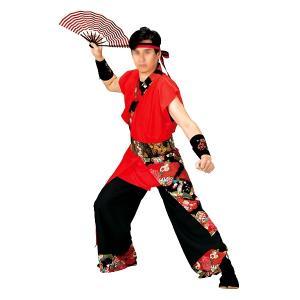 よさこいコスチューム 上衣 =よさこい衣装 YOSAKOIソーラン よさこい祭り= (73046) dento-wako