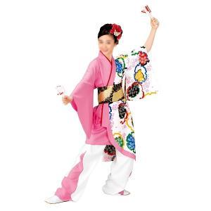 よさこいコスチューム 上衣 =よさこい衣装 YOSAKOIソーラン よさこい祭り= (73120) dento-wako