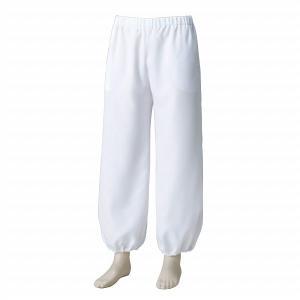 よさこいニッカポッカ風パンツ 白 =よさこい衣装 YOSAKOIソーラン よさこい祭り= (76115) dento-wako