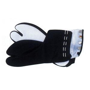 黒ストレッチ足袋(紳士用) =室内用足袋 草履 着物 お祭り=|dento-wako
