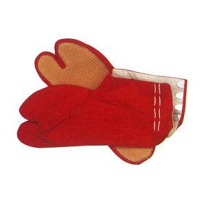 カラー祭足袋 赤 =お祭り用 薄ゴム底 まつりタビ 大祭 祭禮 イベント=|dento-wako