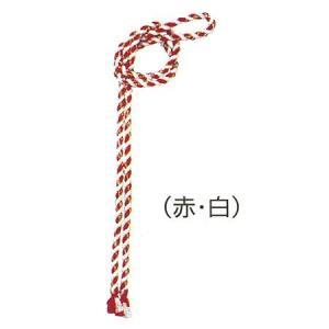 細ねじり鉢巻(赤/白) 自由型 =よさこい お祭り用品 YOSAKOIソーラン 大祭 祭禮 イベント はちまき= dento-wako