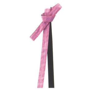 無地鉢巻 リバーシブル(ピンク/黒) =よさこい お祭り用品 YOSAKOIソーラン 大祭 祭禮 イベント はちまき= dento-wako