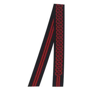 半纏帯 綿リバーシブル染め帯(黒) =お祭り用品 大祭 祭禮 イベント 半天帯=|dento-wako