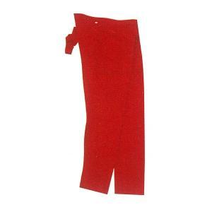 カラー長股引(ももひき) 赤 大人用 =お祭り衣装 大祭 祭禮 神輿 イベント=|dento-wako