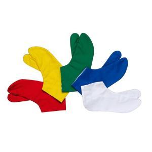 カラー足袋 (雲才底) =室内用足袋 草履 着物 お祭り=|dento-wako