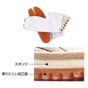 祭ジョグ足袋 6枚甲馳 白 =お祭り よさこい用品 YOSAKOIソーラン 大祭 祭禮 イベント=|dento-wako