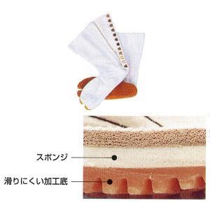 祭ジョグ足袋 12枚甲馳 白 =お祭り よさこい用品 YOSAKOIソーラン 大祭 祭禮 イベント=|dento-wako